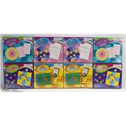 GROUP OF 8 ASSORTED KIDS GAMES