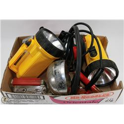 FLAT OF GAUGE JUMPER CABLES,EMERGENCY FLASH LIGHT