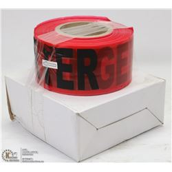 PAIR OF NEW 1,000FT ROLLS OF BARRICADE TAPE
