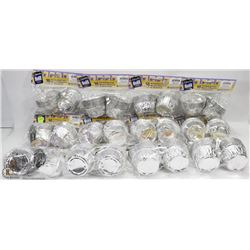 LARGE BUNDLE OF FOIL BAKING CUPS