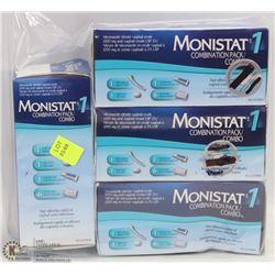 BAG OF MONISTAT 1 COMBINATION PACKS