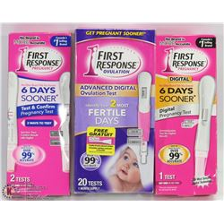 BUNDLE OF OVULATION TEST AND PREGNANCY TESTS