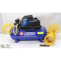 CAMPBELL HAUSFELD AIR COMPRESSOR WITH AIRLINE
