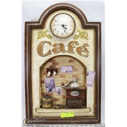 CAFE WALL CLOCK