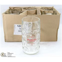 CASE OF 6 NEW RICKARDS OKTOBERFEST 1 L BEER STEINS
