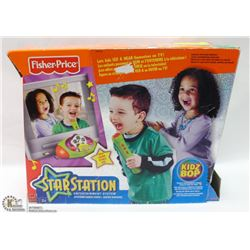 SEALED FISHER PRICE STAR STATION