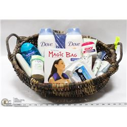 BEAUTY BASKET WITH ALL NEW PRODUCTS INCL