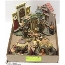 COLLECTION OF WOODMERE WAY ORNAMENTS