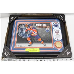 FRAMED CONNOR MCDAVID LIMITED EDITION PICTURE