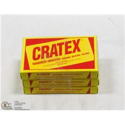 CRATEX RUBBERIZED ABRASIVES - 300 TOTAL