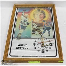 WAYNE GRETZKY CLOCK