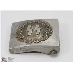 VINTAGE GERMAN NAZI SS BELT BUCKLE WITH RZM M34/2