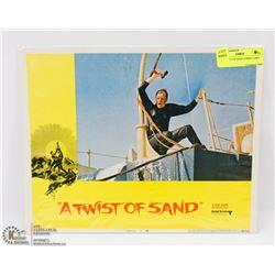 1968 TWIST OF SAND LOBBY CARD #4 68/294