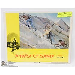 1968 TWIST OF SAND LOBBY CARD #5 68/294