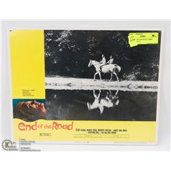 1970 END OF THE ROAD LOBBY CARD #4 70/131