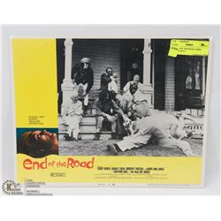 1970 END OF THE ROAD LOBBY CARD #6 70/131