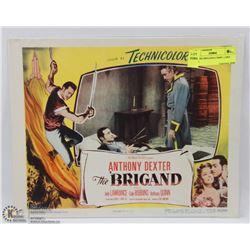 1952 THE BRIGAND LOBBY CARD 52/192