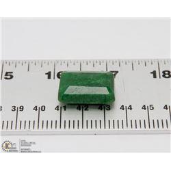 #77-NATURAL GREEN EMERALD GEMSTONE 55CT