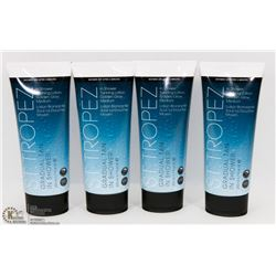 BAG OF 4 ST. TROPEZ IN SHOWER TANNING LOTION.