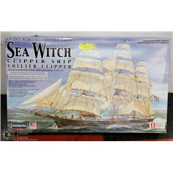LARGE SEA WITCH BOAT MODEL KIT, UNOPENED PACKAGES