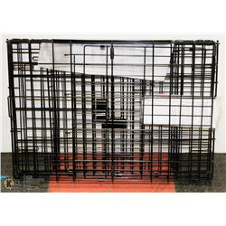 DOG METAL CRATE STYLE PLAY PEN