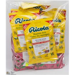 BAG OF RICOLA COUGH DROPS