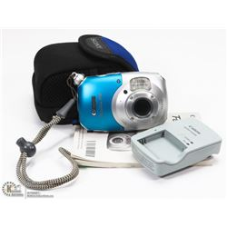 CANON POWER SHOT D10 CAMERA & BATTERY CHARGER