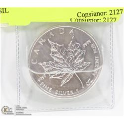 MAPLE LEAF 1 TROY OUNCE .999 SILVER