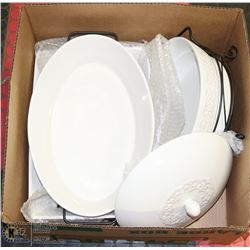 BOX W/CERTIFIED INTERNATIONAL PORCELAIN