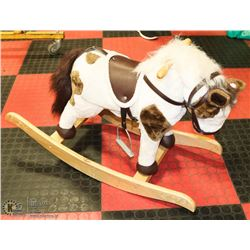 PLUSH ROCKING HORSE ANIMATED