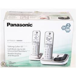 PANASONIC 2 HEADSET DIGITAL CORDLESS ANSWERING
