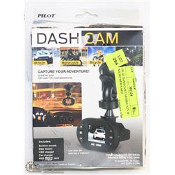 PILOT DASH CAM CAR/BIKE/ATV W/ MICRO MEM CARD