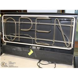OPEN & THANK YOU NEON SIGN (WORKS)