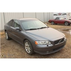 UNRESERVED. 2007 VOLVO S60 AWD