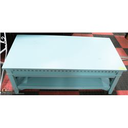 "NEW TEAL 26"" x 48""x18""H COFFEE TABLE"