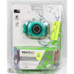 SEALED VIVITAR ACTION CAM