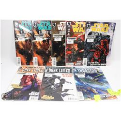 8 DARK HORSE STAR WARS COMICS.