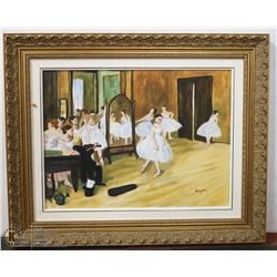"142) ""THE DANCING CLASS, 1871."" JIM CAMPBELL."