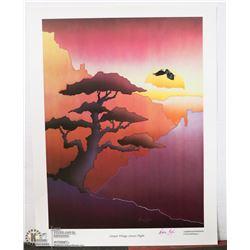 """98) """"CANYON TRILOGY: SUNSET FLIGHT"""" MONA EAGLE"""