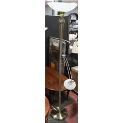 HALOGEN FLOOR LAMP WITH BUILT IN READING LAMP