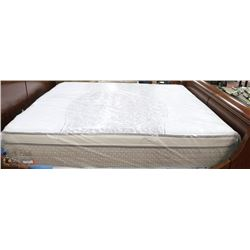 SEALY KING SIZE EUROTOP MATTRESS WITH BOX