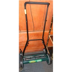 "YARDWORKS 18"" REEL MOWER"