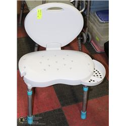 WHITE SHOWER/BATH  CHAIR