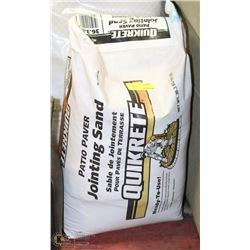 BAG OF QUICKRETE PATIO PAVER JOINTING SAND
