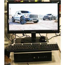 BUSINESS CLASS HP COMPAQ iNTEL i5/500GB DESKTOP