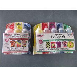 2 New Tie-Dye Kits / 59pc & 28pc