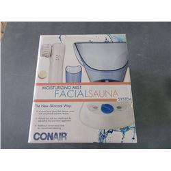New Facial Sauna System / cleans pores / exfoliates skin