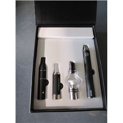 BLACK 3 in 1 Wax Vaporizer Pen Kit Dry Herb electronic cigarettes with
