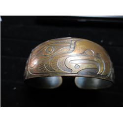 Copper Bracelet by HAROLD ALFRED West Coast Artist