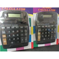 2 New Jumbo Calculators